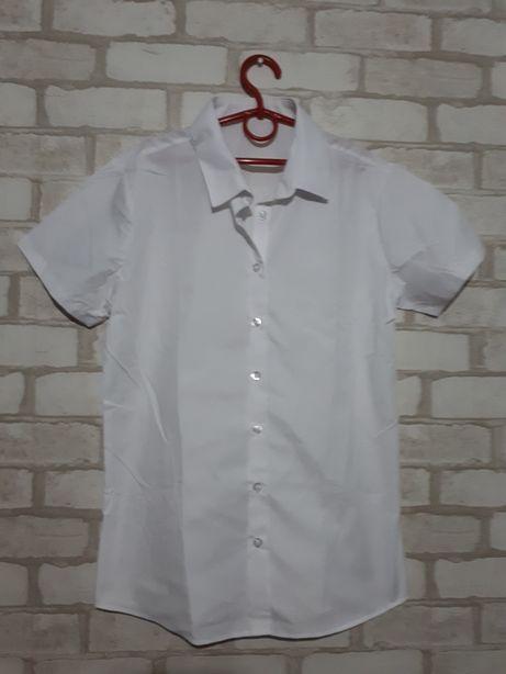 Белая рубашка на девочку, мальчика на последний звонок