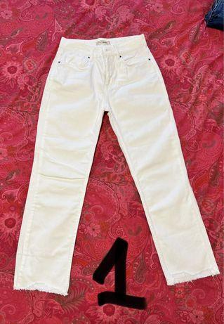 Varias calças de ganga