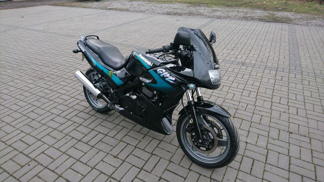 Kawasaki gpz 500 s, ex 500 raty raty