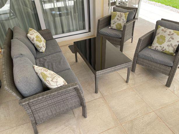 Cadeiras para sala , móvel mesa cozinha, conjunto 4 peças jardim
