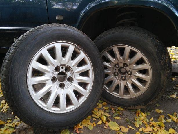 Титаны ВОЛЬВО 7-9 серии с шинами Bridgestone зима.