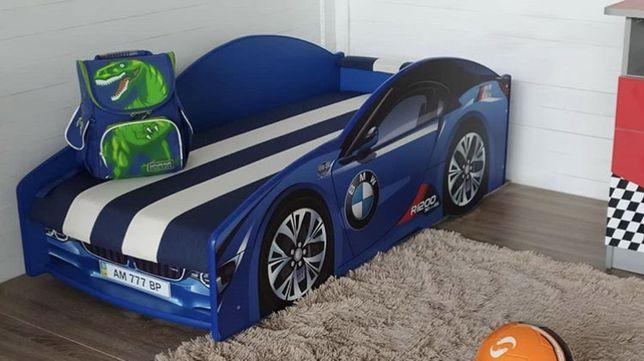 Детская кровать машина кроватка для мальчика для девочки детский диван