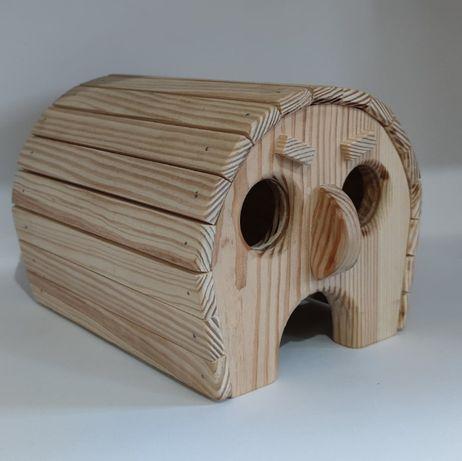 Домик для хомячка/мелких грызунов деревянный