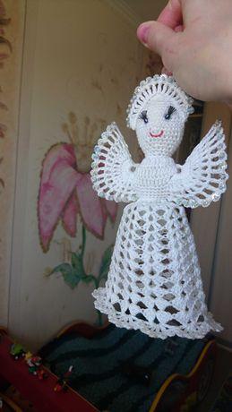 Янгол -білі крила. Ручна робота