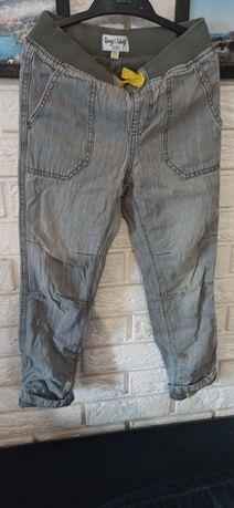 Spodnie jeansowe chłopięce z podszewka Bugs&Hugs, 116/122