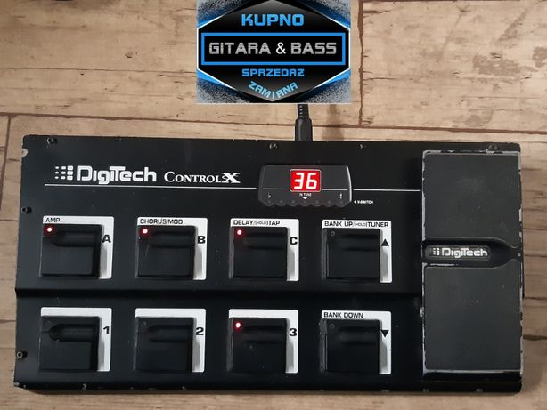 DigiTech Control X - nożny kontroler gitarowy - USA - lub dodam Gratis