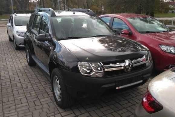 Повнопривідний Renault Duster з Європи