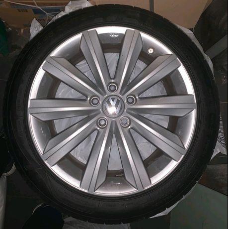 Диски, шины, колёса R17 оригинал VW