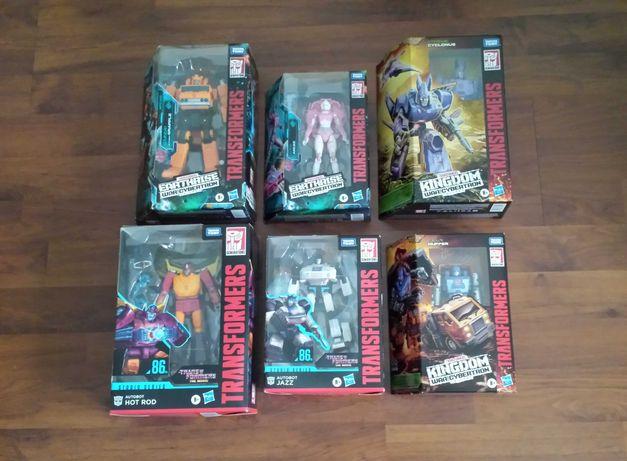 Lote de 6 figuras Transformers , Figuras completamente NOVAS
