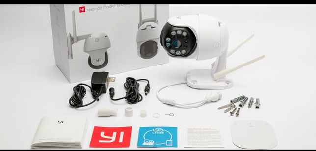 Kamera Yi Outdoor PTZ 1080P  IP66 3MPX- Nowość!!! OKAZJA!!!