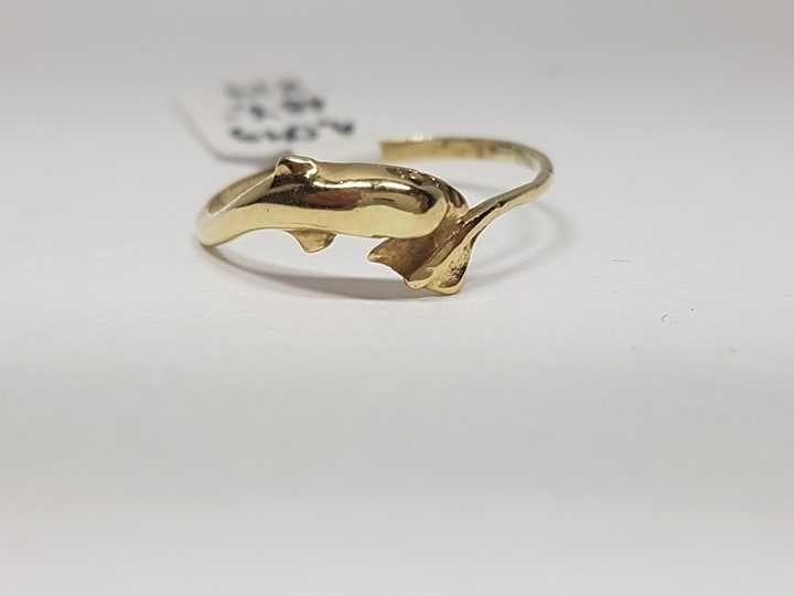 Złoty pierścionek 14kr - Lombard Krosno Betleja