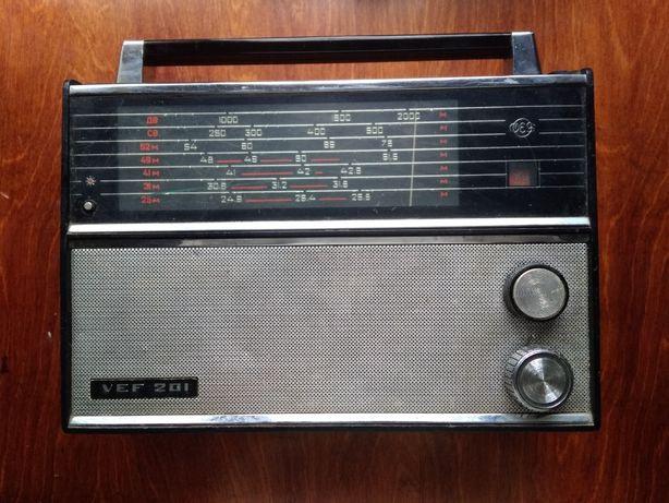 Радіоприймач VEF 201