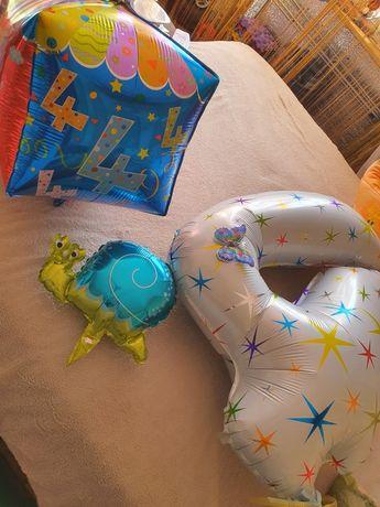 Шары фольгированные шар шарики 4 года цифра