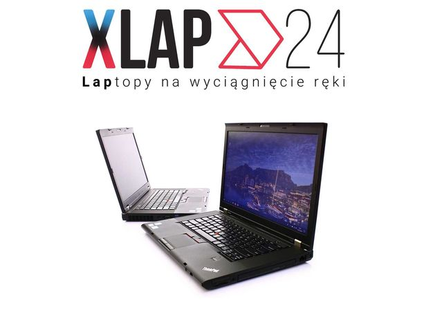 "Laptop Komputer Biurowy 15,6"" Lenovo T530 Intel I5 8GB 240SSD KAMERA"