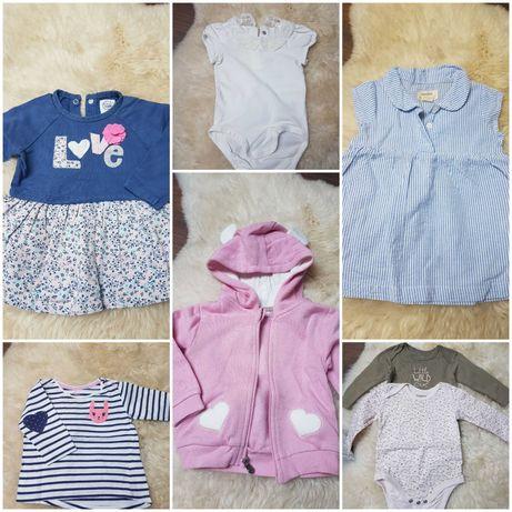Ubranka dla dziewczynki rozmiar 68
