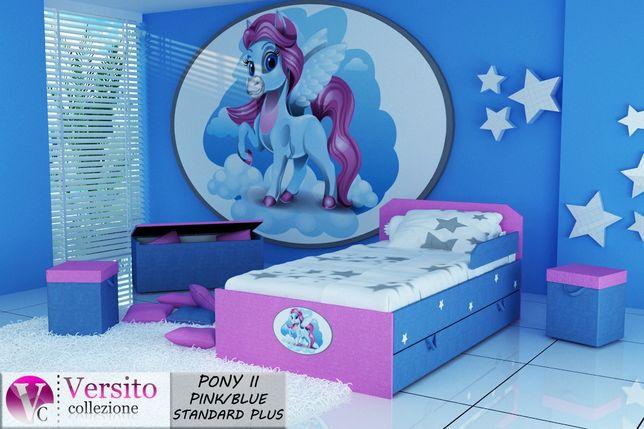 Łóżko dla dziecka z materacem i szufladą, łóżko z zufladą na pościel