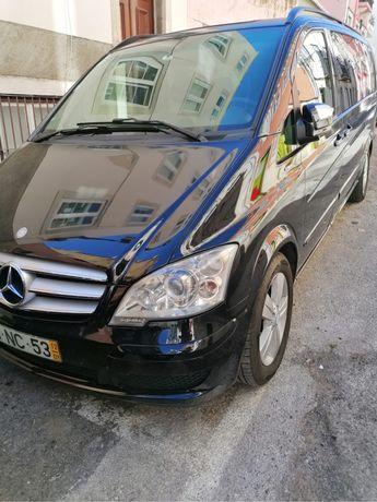 Mercedes Viano 8 Lugares com duas portas eletricas e tetos panoramicos