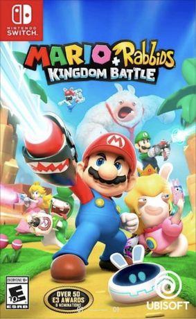 Mario + Rabbids Kingdom Battle na Nintendo switch