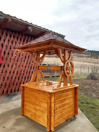 Продам дашок на криницю покрашений і накритий повністю готовий