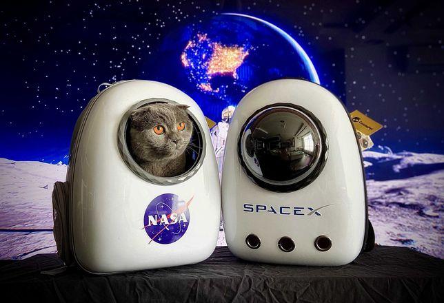 CosmoPet NASA, SpaceX космический рюкзак переноска для кота
