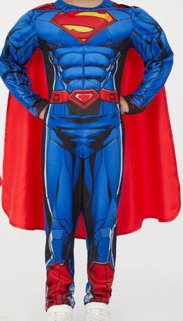 Strój Superman 98/104 karnawałowy H&M