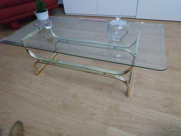 Mesas de apoio em vidro para sala