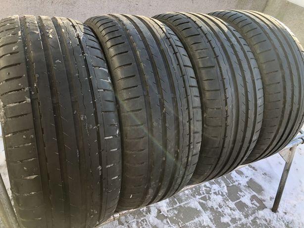 225/45 R17 шины бу резина лето комплект из 4шт