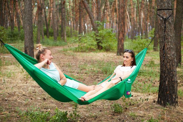Гамак Calm-outdoor прочный , лёгкий и комфортный