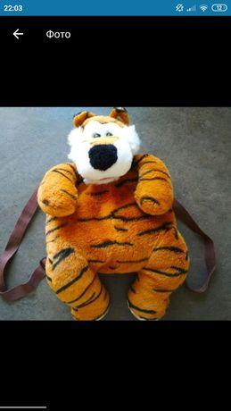 Рюкзак-игрушка плюшевый сумка