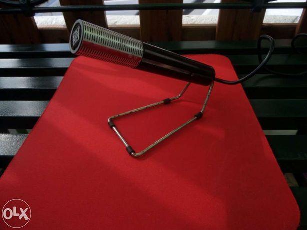 Microfone dinâmico td 12 telefunken - vintage - anos 70