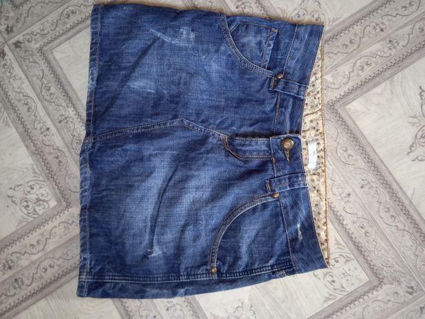 Продам юбку джинсову