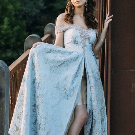Выпускное длинное платье OdRica