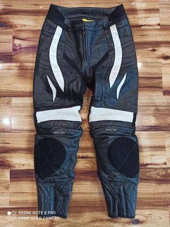 PROBIKER PRX-7 Spodnie motocyklowe skórzane damskie rozm.36. OKAZJA!!