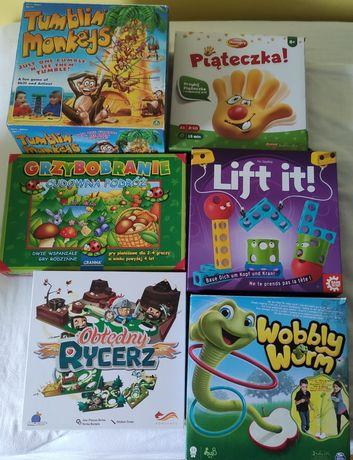 Zestaw gier dla dzieci od 4 roku życia do 9 lat