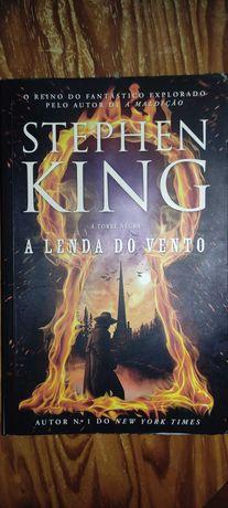 """Livro """"A Lenda do Vento: A Torre Negra"""" de Stephen King"""