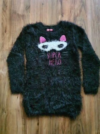 Sweterek włochacz miękki 134 Smyk