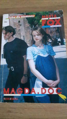 Magda. Doc.- Marta Fox. Książka młodzieżowa.