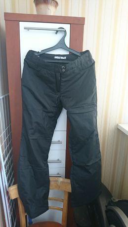 Лыжные женские штаны с подтяжками, р.42-44