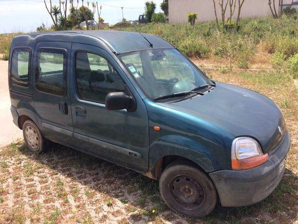 Renault Kangoo com gas para partes