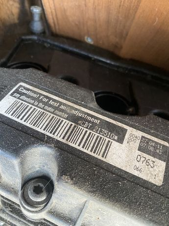 Мотор Мотор VW Golf 12 USA 2.5 cbta,