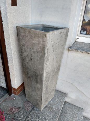 Donica betonowa wysoka 100cm