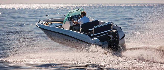 wynajem czarter motorówki motorówka Sting 530 Gdynia Sopot Zatoka