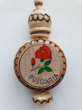 Деревянные сувениры С Духами Болгарская Роза (Bulgarian Rose - 2ml)