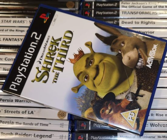 Shrek the Third PS2 Sklep Ursus
