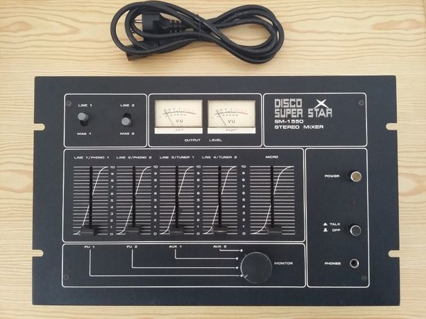 Mesa de Mistura Stereo/Mixer Vintage (único dono e pouco uso)
