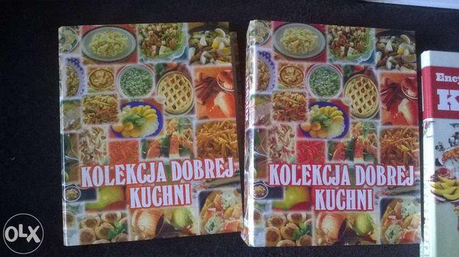 kolekcja dobrej kuchni + zdrowa kuchnia + encyklopedia zestaw kucharki