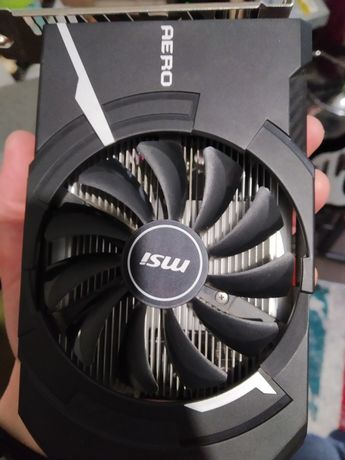 Видеокарта Radeon Rx 550 Aero itx 2g oc