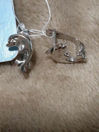 Сережки срібні дитячі