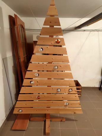 Choinka drewniana ok 200 cm wysokości Handmade