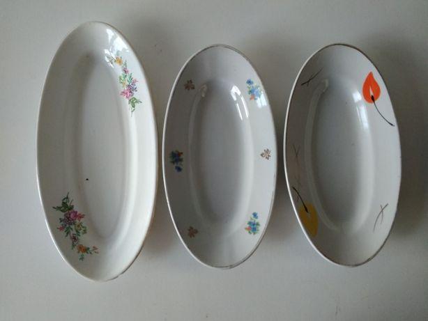 сервировочное блюдо овальная тарелка селедочница салатница СССР Буды
